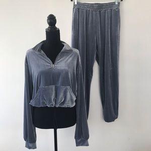 Fashion Nova Velour Sweatsuit